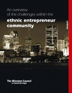 An overview of the challenges within the ethnic entrepreneur com - Publications - The Wisemen Council